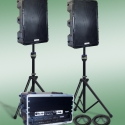 Technomad turn-key PA systems - weatherproof loudspeakers with great sound quality and power, with pre-integrated equipment racks and accessories.  Just connect power and go!  Sizes for every application, including football stadiums and soccer fields.  Best quality, US Made.  Learn more at https://www.technomad.com/