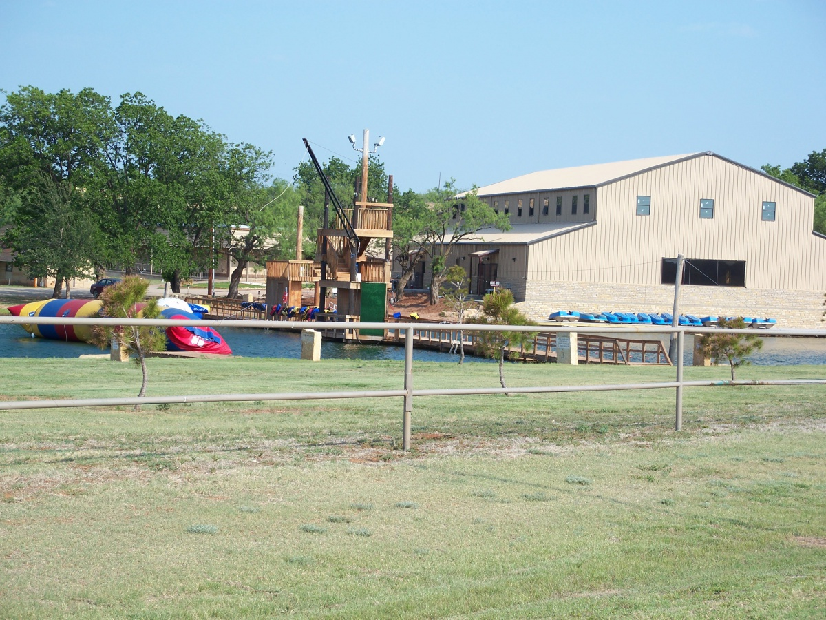 The campus of Big Country Baptist Assembly