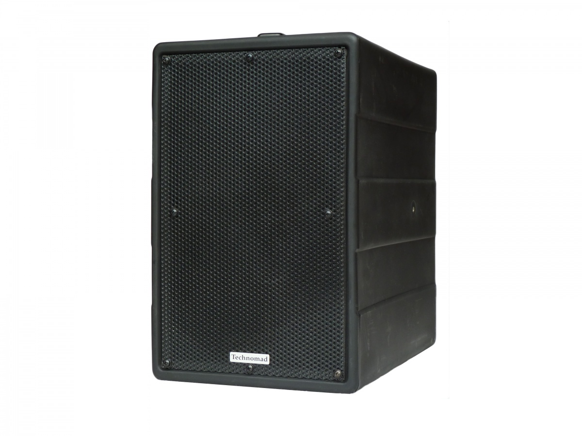 The DragonFly is the commercial AV industry's first self-casing, all-in-one weatherproof, portable PA system