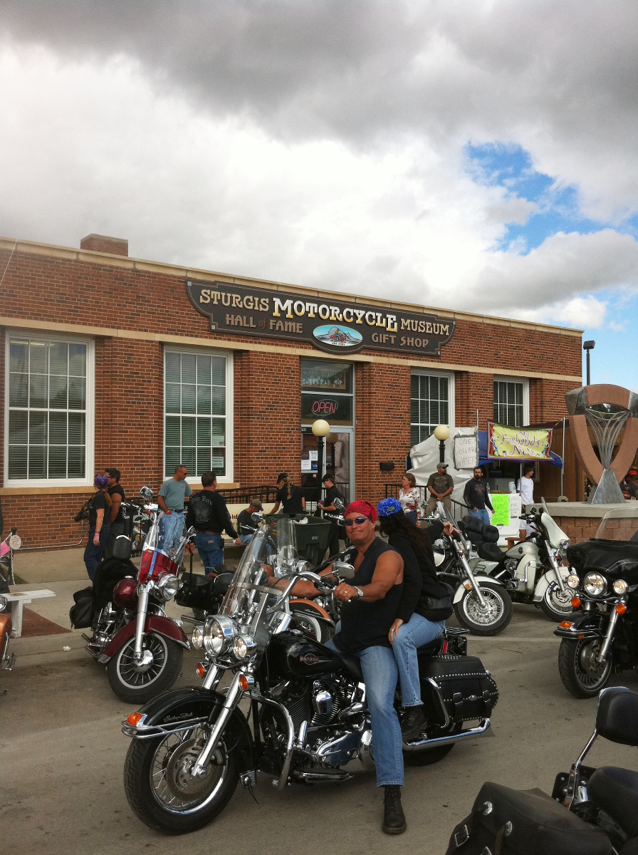 The Sturgis Motorcycle Hall of Fame is one of the oldest buildings in downtown Sturgis, home to one of the world's largest annual motorcycle rallies. Technomad loudspeakers are positioned on rooftops around the downtown to deliver high-quality voice and audio. Photo credit to Nicholas Ng.