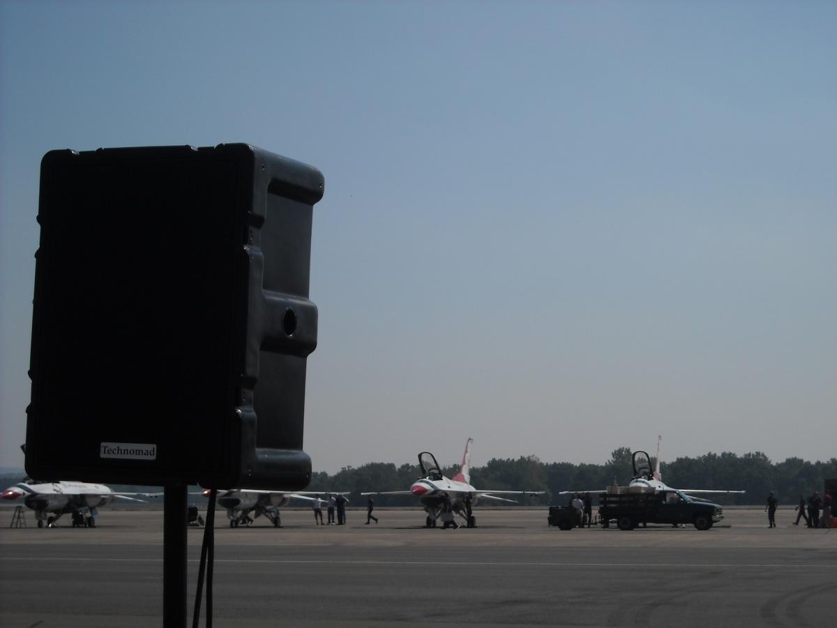 Berlin Loudspeaker on the Runway