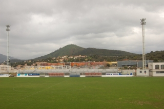 Stade Francois Coty is home to Division 2 club AC Ajaccio, part of the LFP French professional football league