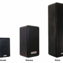 The Vernal and Paris are part of the company's MP Series of weatherproof loudspeakers.