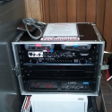 A Turnkey PA signal processing rack for Haskell County Courthouse