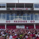 HSU installed two Nohos on its new press box
