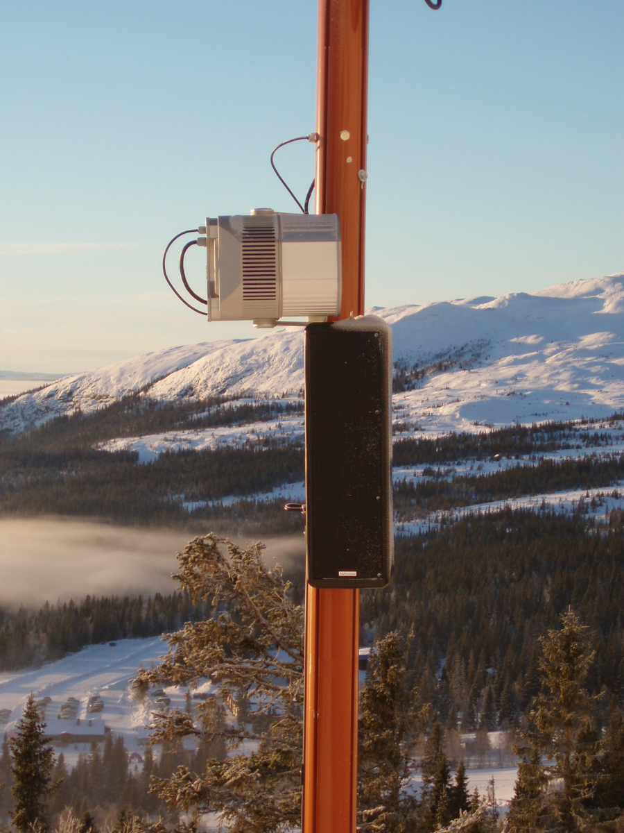 Technomad loudspeakers now blanket the snow-covered slopes of the SkiStar resort in northern Sweden with atmospheric music and resort information