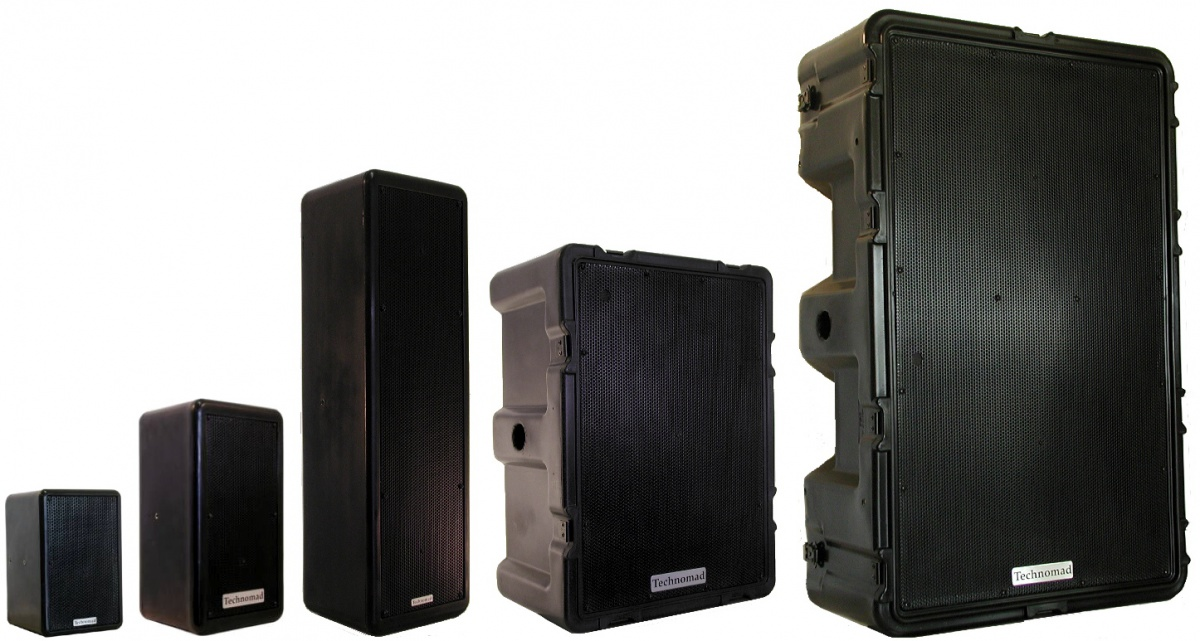 Audio Anywhere Weatherproof Loudspeakers Amplifiers