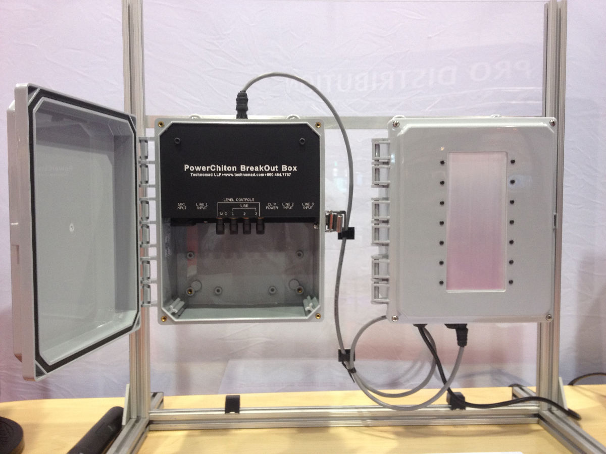 Powerchiton Outdoor Amplifiers Waterproof Amplifiers For Weatherproof Applications Technomad