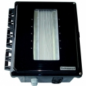 PowerChiton outdoor amplifier - weatherproof amplifiers install anywhere, totally sealed.  130 to 1500 watts.  Outdoor amps for boats, stadiums, residential, more.