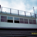 Another sports PA system ( football stadium ) sound system installation from https://www.technomad.com/  - turnkey Ipa2 system delivers great sound to home, field and away stands.