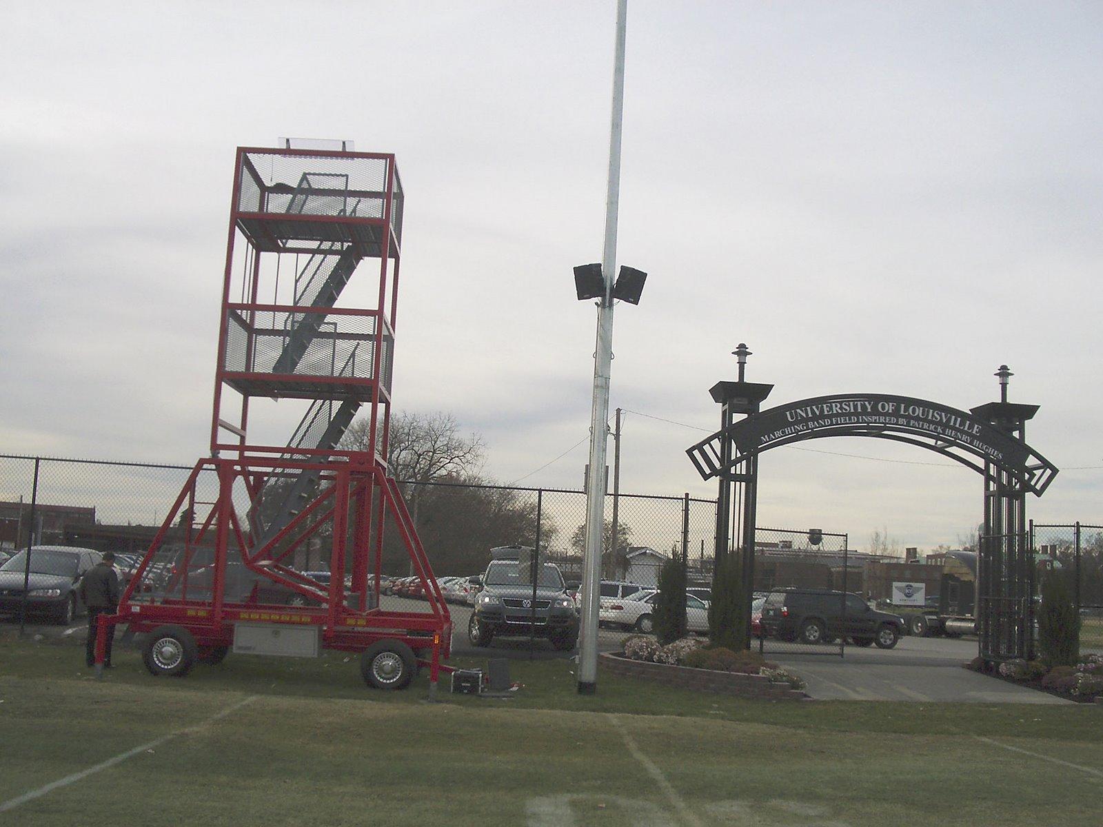Technomad Turnkey PA System Installation t the University of Louisville in Kentucky.