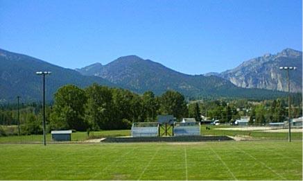 bitterroot field football field
