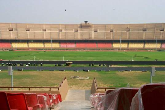 New Dheli Stadium Technomad Installation