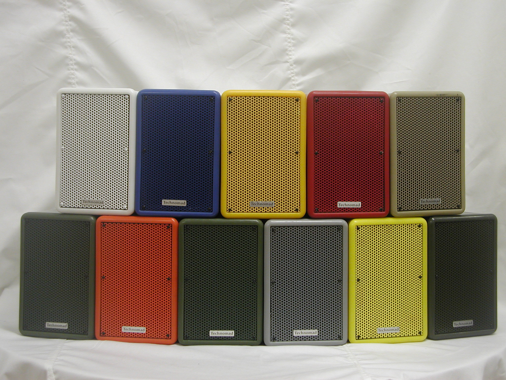 Technomad Loudspeaker Color Choices