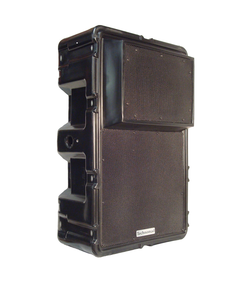 The Technomad range of narrow dispersion loudspeakers will receive their public debut at InfoComm 2009