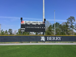 Technomad Berry College Scoreboard - 06