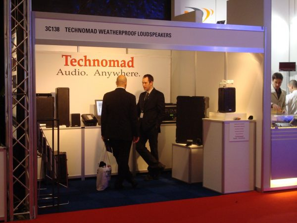 Technomad booth at amsterdam