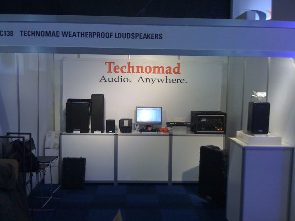 Technomad at ISE Europe Booth