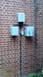Powerchiton Wallmounted installation