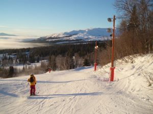 The unique lighting and soubnd experience on the SkiStar slopes is considered a first for northern Europe, according to Watt & Volt