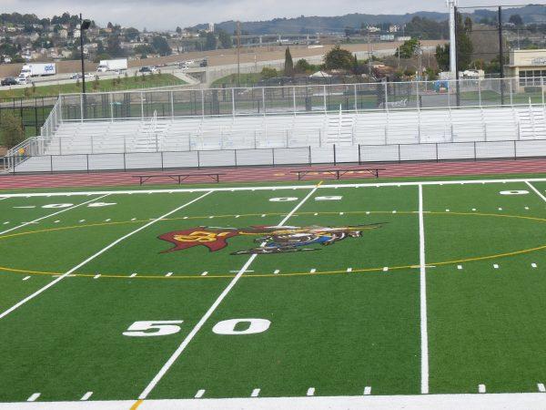 San lorenzo bleacher Noho Stadium loudspeakers installation