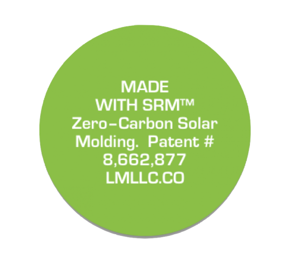 Moled with Solar Rotational Molding from LightManufacturing - zero carbon manufacturing. Learn more at http://www.lightmanufacturingsystems.com