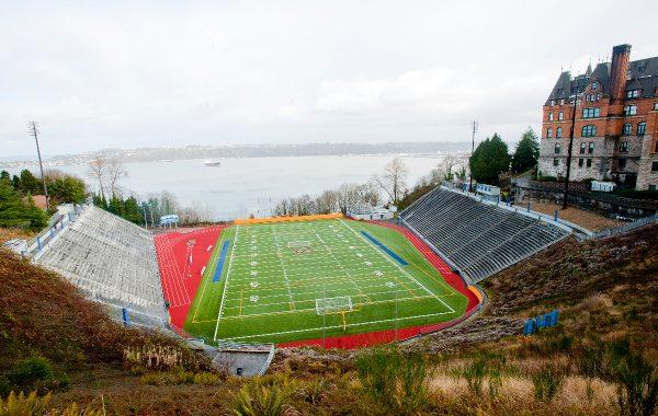 Historic Stadium High School in Tacoma