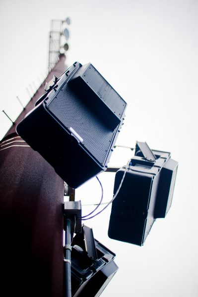 Technomad Berlin narrow dispersion loudspeakers direct audio to specific areas