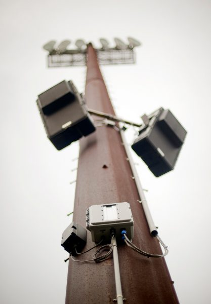 The compact, low-profile PowerChiton design makes it ideal for co-location with loudspeakers outdoors