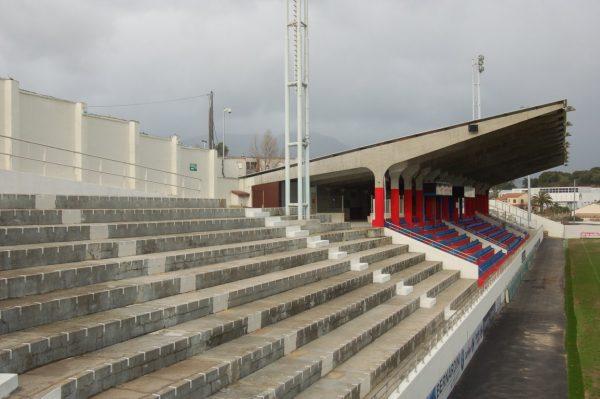technomad at ajaccio stadium view
