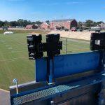 Wildcats football stadium Technomad IPA3 Audio System back view